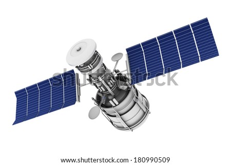 Satellite communications	 - stock photo