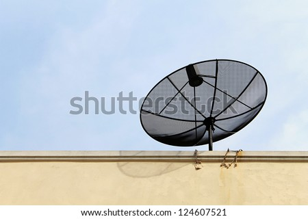Satellite dish of technology