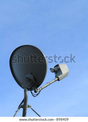 Satellite Television Receiver (Dish TV) - stock photo