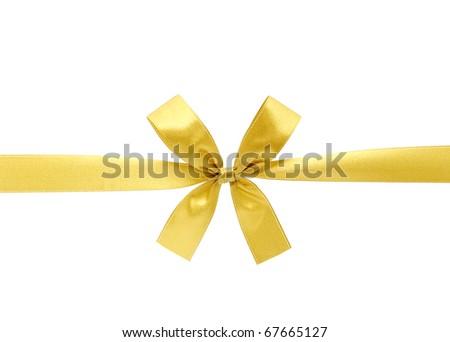 satin ribbon - stock photo