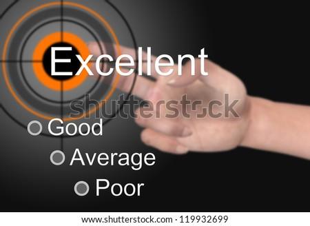 Satisfaction survey - stock photo