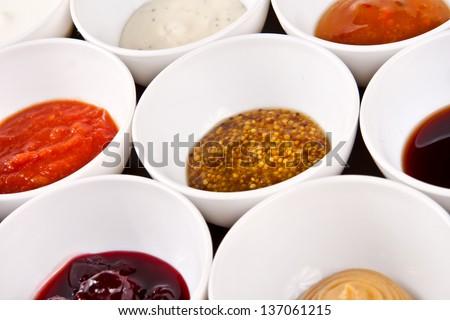 Sauces - stock photo