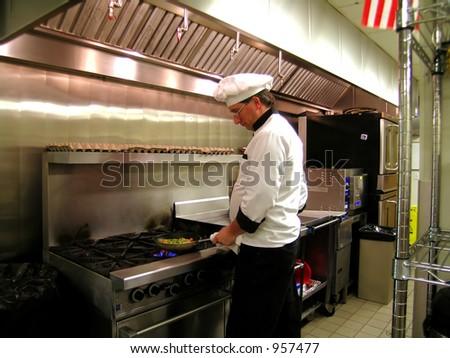 Saute Chef - stock photo