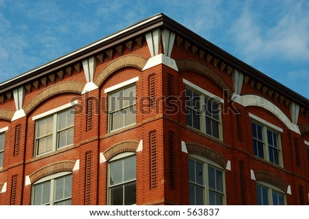 Savannah Historic District Building - stock photo