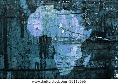 Save Africa - stock photo
