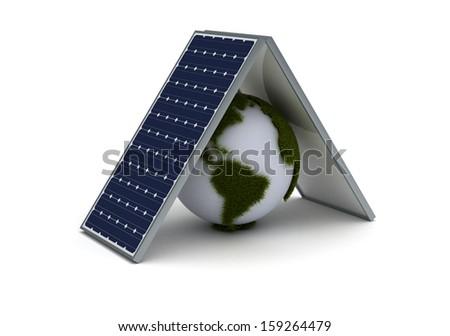 Save Earth - stock photo
