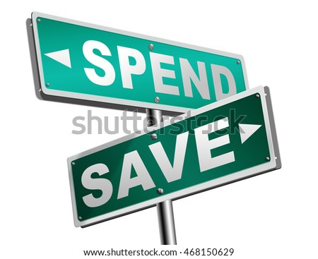 save for later plan ahead saving money in piggy bank savings now and spend later after crisis 3D illustration