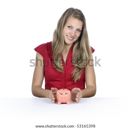 Save money - stock photo
