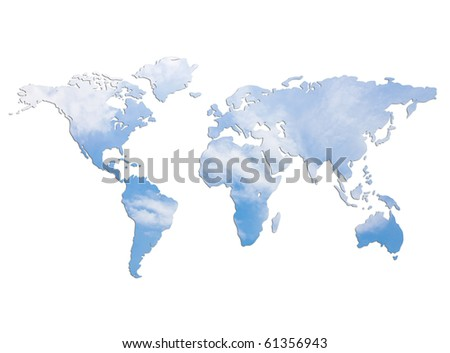 save purified air for the earth - stock photo
