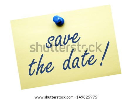 save the date - stock photo