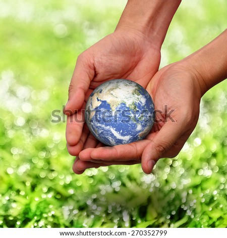 save the earth concept - stock photo
