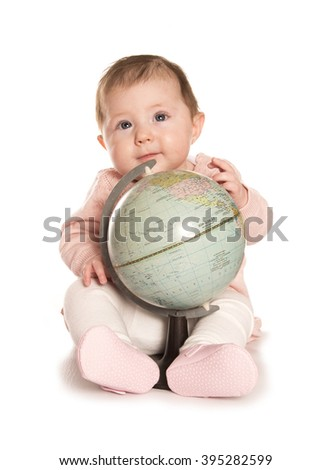 save the world for future generations - stock photo