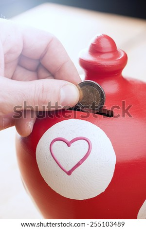 Saving - stock photo