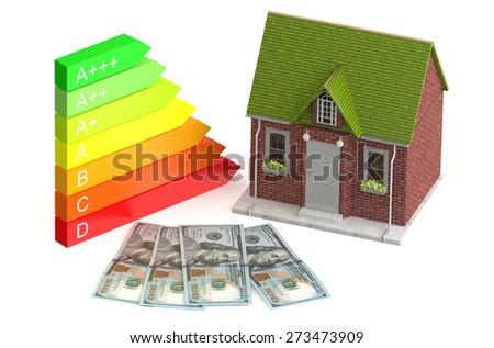 saving and economy energy concept - stock photo