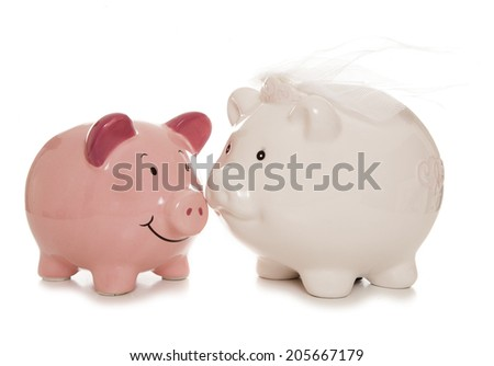 saving for a wedding studio cutout