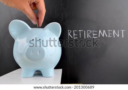 Saving for Retirement - stock photo