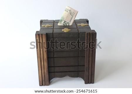 Saving money - stock photo