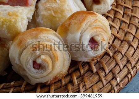 Savory Bakery Ham / Savory Bakery Ham / Savory Bakery Ham - stock photo