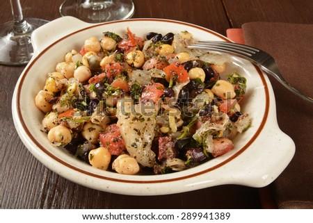 Nutritional Creole Jambalaya Shrimp Sausage Closeup Stock ...