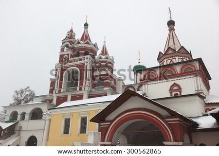 Savvino Storozhevsky monastery. Zvenigorod. Moscow region. Russia  - stock photo