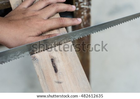 saw and Timber