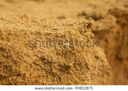 saw dust - stock photo