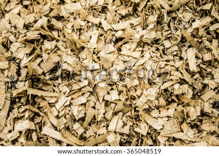 Sawdust wood texture background
