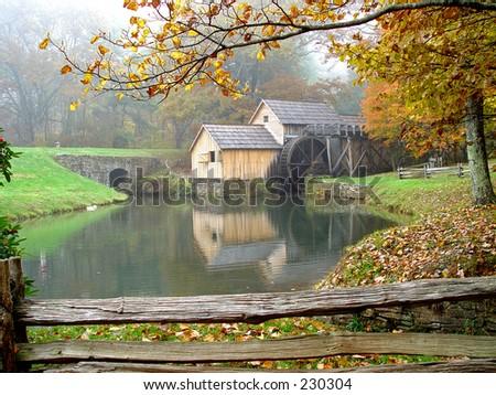 Sawmill - stock photo