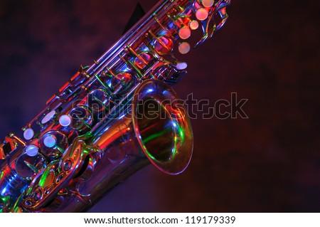 Saxophone - stock photo