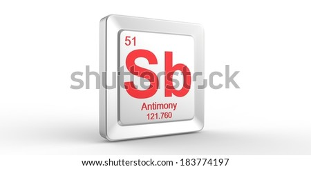 Sb symbol 51 material antimony chemical stock illustration 183774197 sb symbol 51 material for antimony chemical element of the periodic table urtaz Choice Image