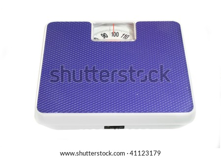 scales under the white background