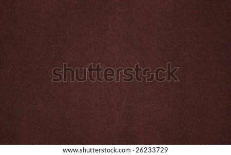 Scanned brown leather texture