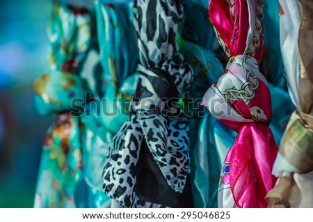 Scarf - stock photo