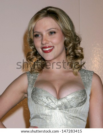 Scarlett Johansson Match Point Premiere LA County Museum of Art Los Angeles, CA December 8, 2005 - stock photo