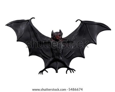 Scary Bat - stock photo