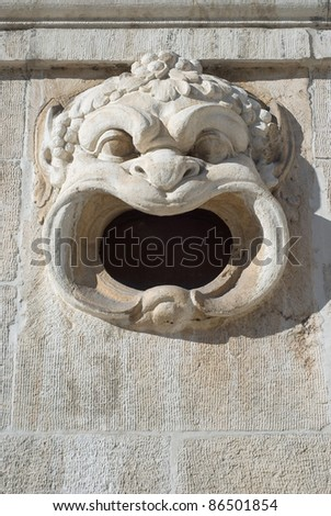 Scary Gargoyle on Bavarian National Museum as Cultural Symbol