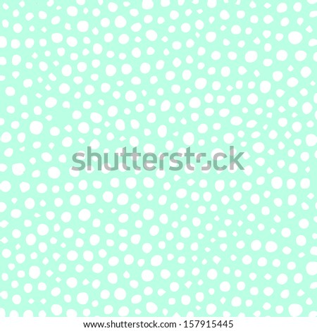 Scattered Dots - stock photo