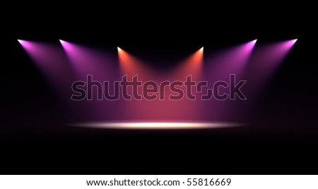 Scene light - stock photo