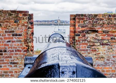Scene of Hever Castle, Hever, Kent, England.  - stock photo