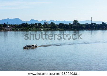 Scenery along the Mekong River