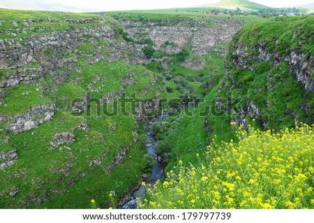 Scenic landscape - stock photo