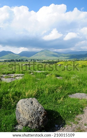 Scenic landscape - stock photo