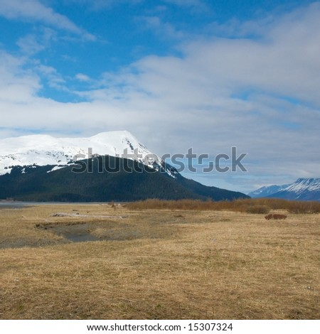 Scenic nature images of the Alaskan wilderness - stock photo