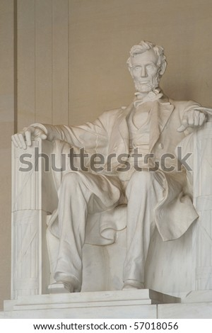 Scenic Photo from Washington DC. Lincoln Memorial taken at an angle.