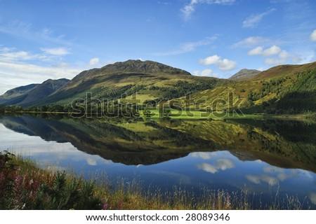 Scenic Scotland nature Landscape - stock photo