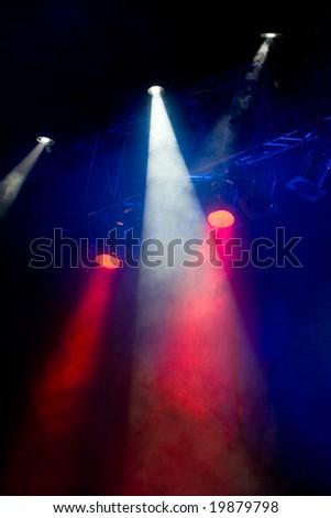 scenic spot lights - stock photo