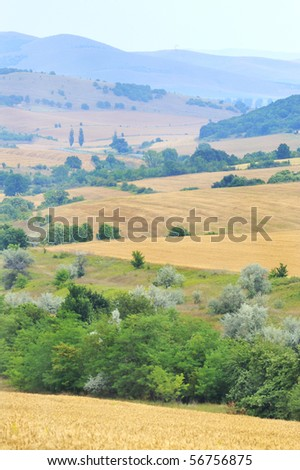 scenic view - stock photo
