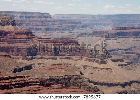 Scenic view from south rim of Grand Canyon