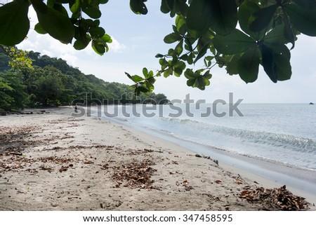 Scenic view of a beach, Trinidad, Trinidad and Tobago - stock photo