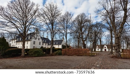 Schackenborg Castle is a royal residence of the Danish monarch located in Moegeltoender, Denmark